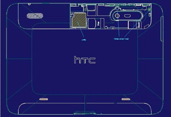 HTC Puccini: Das 10 Zoll-Tablet zu Besuch bei der FCC