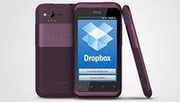 HTC: Jedes Android-Gerät bald mit 5 GB Dropbox-Speicher