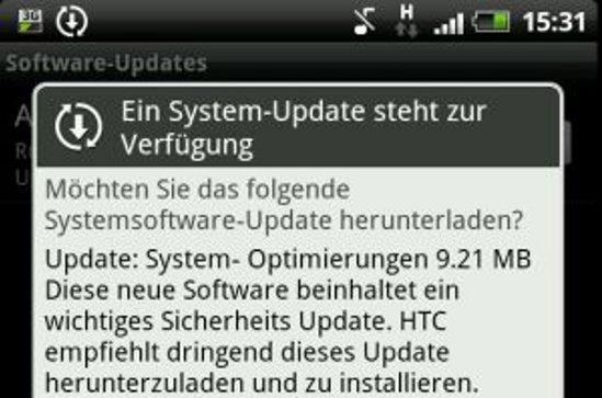 HTC Sensation: Sicherheitsupdate wird ausgerollt