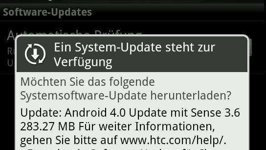HTC Sensation (XE): Ice Cream Sandwich-Update wird ausgerollt