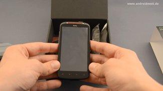 HTC Sensation XE: Unboxing-Video des Beats Audio-Smartphones