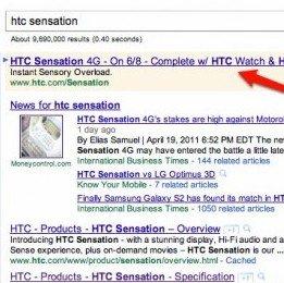 HTC Sensation: Google Anzeige verrät Releasedatum