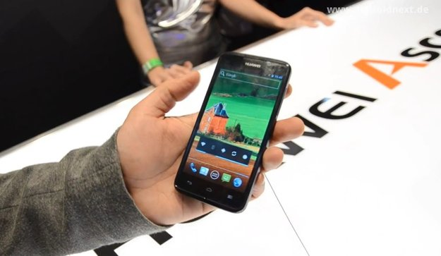 Huawei Ascend D quad (XL): Hands On-Video [MWC 2012]