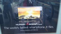 """Huawei Ascend D quad: Bild und Teaser des """"schnellsten Smartphones der Welt"""" aufgetaucht [MWC 2012]"""