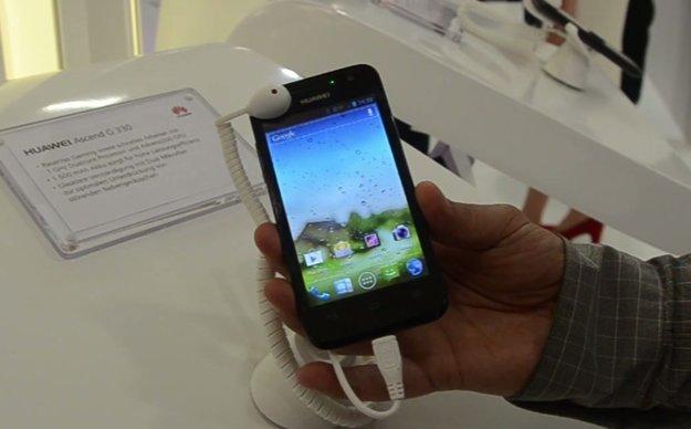 Huawei Ascend G330: Hands-On zum Mittelklasse-Smartphone [IFA 2012]