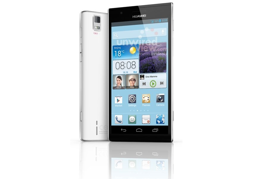 Huawei Ascend P2: Pressefoto aufgetaucht, soll 1080p-Display mit 4,5 Zoll besitzen