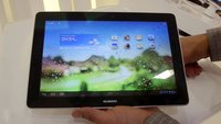 Huawei MediaPad 10 FHD: 10-Zoll-Tablet im Hands-On & Benchmark [IFA 2012]