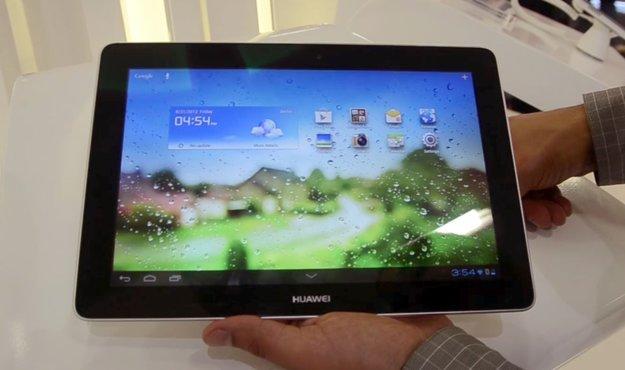 Huawei MediaPad Link: Hinweise auf neues 10 Zoll-Tablet