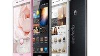 Huawei: Honor 3 wird unzerbrechlich & wasserdicht, Ascend P6 farbenfroh
