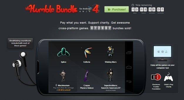 Humble Bundle 4: Neue Android-Games zum selbst bestimmbaren Preis