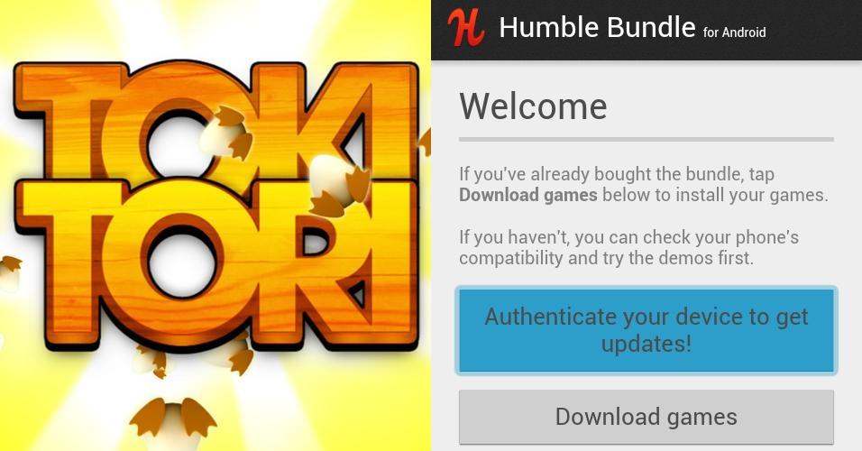 Humble Bundle: Neues Spiel ?Toki Tori? und eigene Android-App