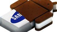 Ice Cream Sandwich: Samsung nennt Update-Pläne für Galaxy S2, Note, Tab-Reihe