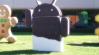 Ice Cream Sandwich: Statue am Google-Firmensitz enthüllt [Update: Video]