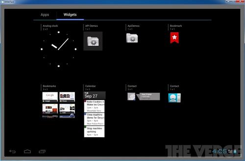 ics settings tablet