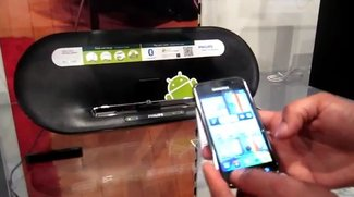 IFA 2011: Philips Audio-Docks AS111 und AS851 für Android-Geräte