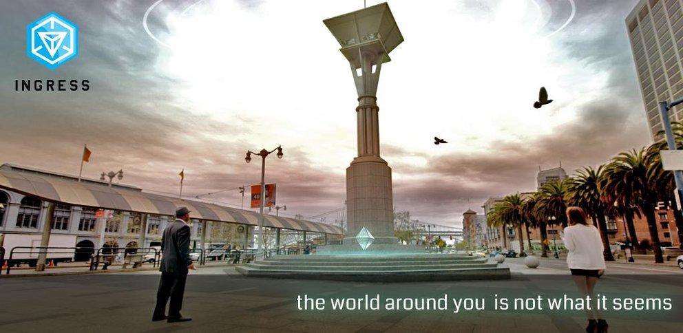 Ingress: Googles Augmented Reality-Spiel offen für Betatester