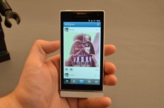 Instagram für Android: Retrofoto-App im Walkthrough-Video