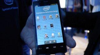 Android-Smartphone mit Intel-CPU: Referenzdesign-Gerät vorgeführt [CES 2012]