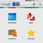 Google I/O 2011-App: Mittendrin statt nur dabei