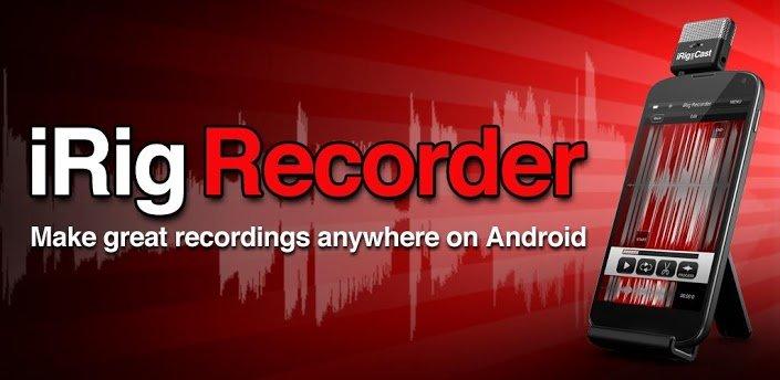 iRig Recorder: Audio-Aufnahme-App für Android erschienen