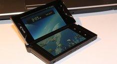 Kyocera Echo: Android-Smartphone mit 2 Displays im Hands-On