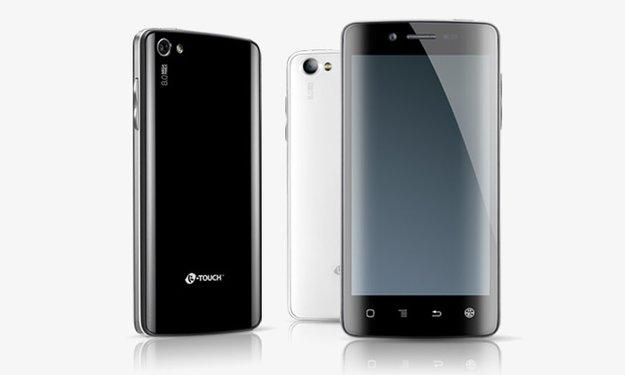 K-Touch Hornet II: Quad Core-Smartphone für 250 Euro
