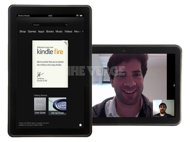 Amazon Kindle Fire 2: Fotos aufgetaucht, Maps-App von Nokia