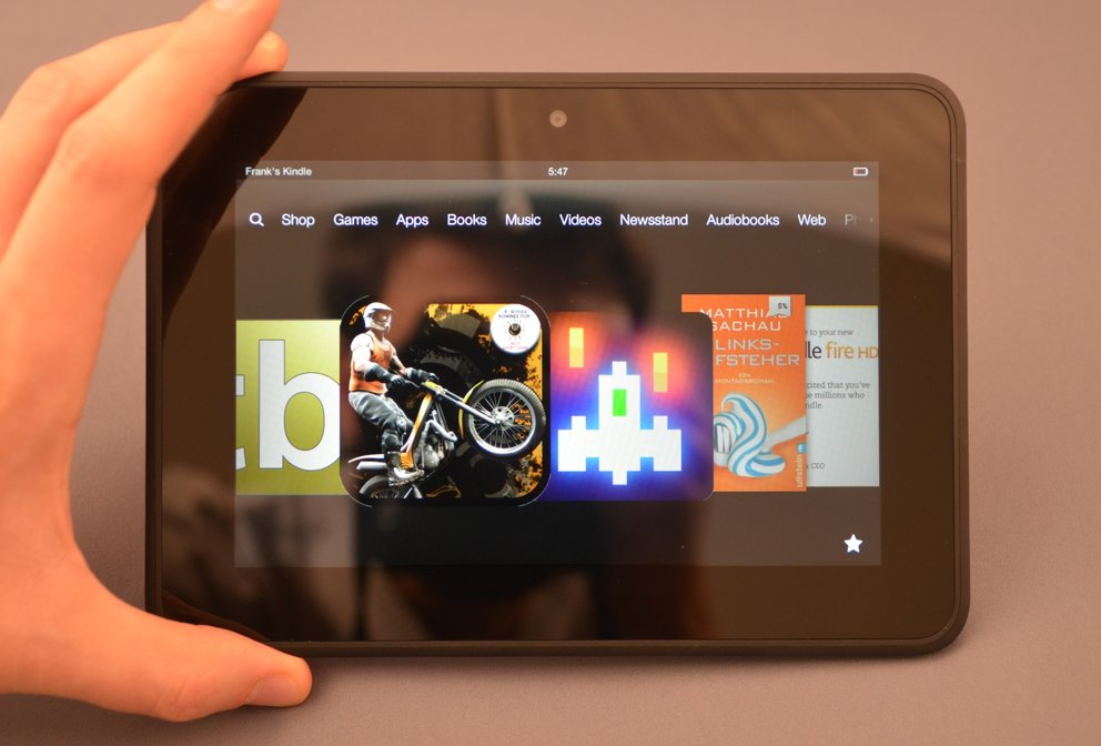 Kindle Fire HD 7: Siebenzoller mit Amazon-Android jetzt ab 169 Euro [Deal]