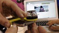 Kogeto Dot: Aufstecklinse für iPhone und Android für schwenkbare Panorama-Videos [CES 2012]