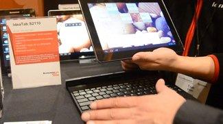 Lenovo IdeaTab S2110: Hands-On zum Transformer-Pendant [CES 2012]