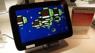 "Lenovo IdeaTab K2110: Erstes Tablet mit Intel ""Medfield"" im Hands-on [CES 2012]"