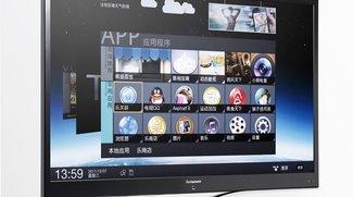 Lenovo IdeaTV K91: 55 Zoll-Fernseher mit Android 4.0, aber ohne Google TV [CES 2012]