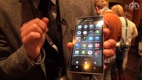 Lenovo K900: Phablet mit Intels Clover Trail+-CPU im Hands-On [MWC 2013]