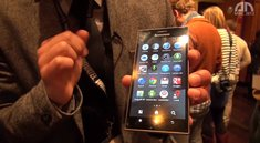 Lenovo K900: Phablet mit Intels Clover Trail+-CPU im Hands-On [MWC 2013]
