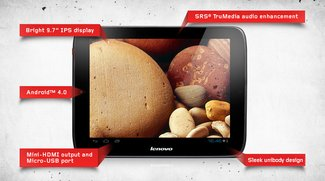 Lenovo IdeaTab S2109: Ice Cream Sandwich Tablet für 329 Dollar