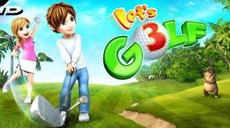 Let's Golf 3 gratis für Android: Gameloft mit Triple Bogey am dritten Loch