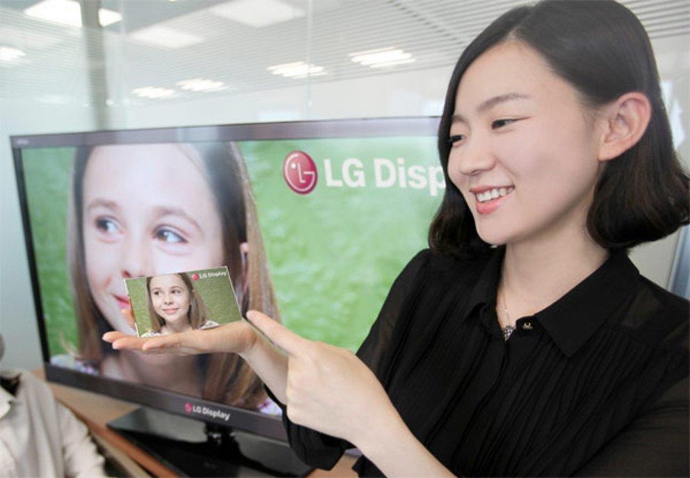 LG: Über-Retina-Display mit 1080p auf 5 Zoll und 440 ppi gezeigt