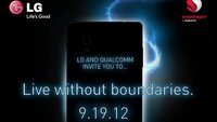 LG Optimus G: Offizielle Vorstellung am 19. September