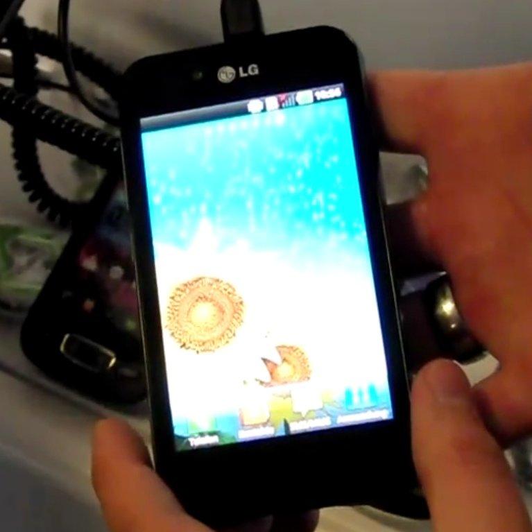 Hands-On: LG Optimus Black [Droidcon]