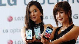 LG Optimus G: Hands-On-Videos von der offiziellen Präsentation