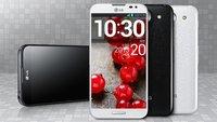 LG Optimus G Pro: Qualcomm Snapdragon 600 wird im Phablet verbaut