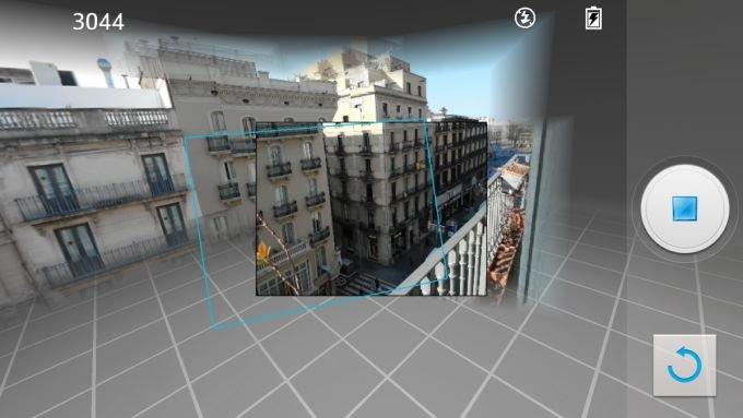"LG Optimus G Pro: ""VR Panorama"" ersetzt Photosphere-Funktion"