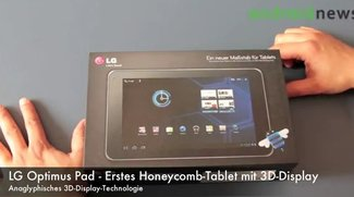 LG Optimus Pad im Unboxing-Video