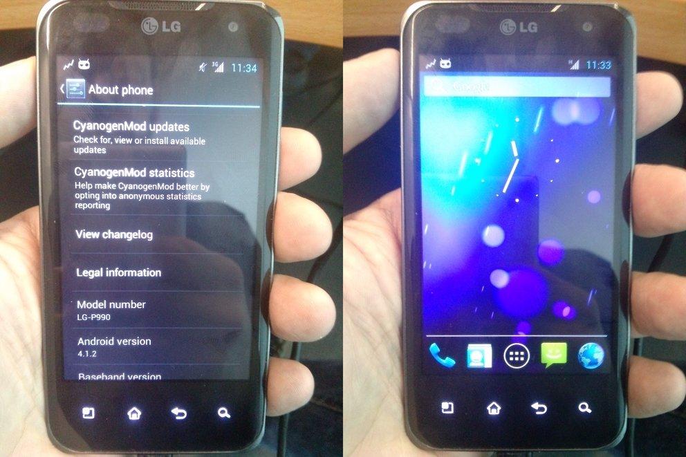 LG Optimus Speed: CyanogenMod 10 dank ICS-Quellcode