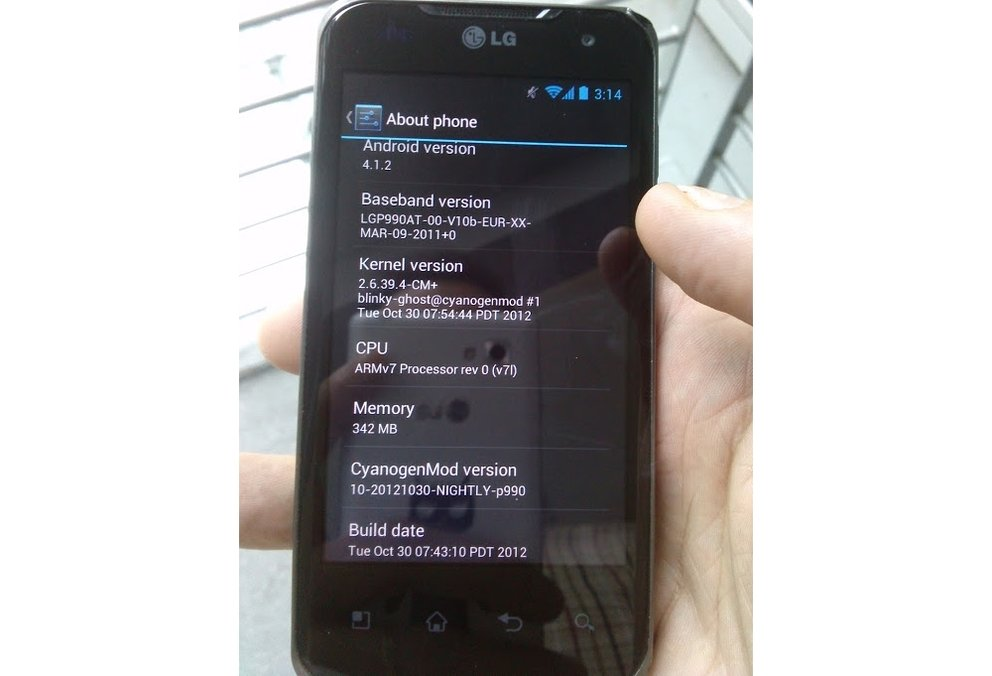 LG Optimus Speed: Jelly Bean per CM10-Nightly Builds installierbar