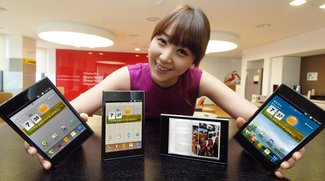 LG Optimus Vu: Erstes Hands-On Video vom Smartlet