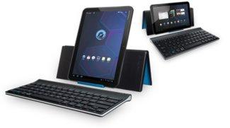 Logitech bringt Bluetooth-Tastatur für Android-Tablets