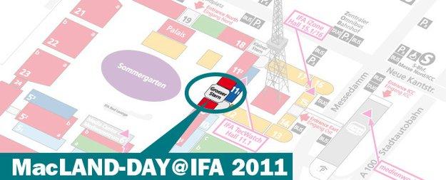 IFA 2011: MacLAND-Day – iOS-Zubehör auch für Android