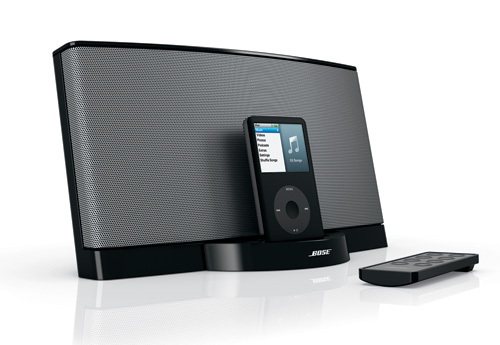 neues bose sounddock ist iphone kompatibel giga. Black Bedroom Furniture Sets. Home Design Ideas