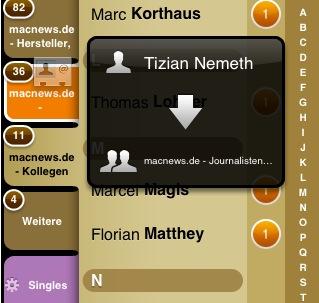 groups adressen verwalten mit iphone und ipod touch giga. Black Bedroom Furniture Sets. Home Design Ideas